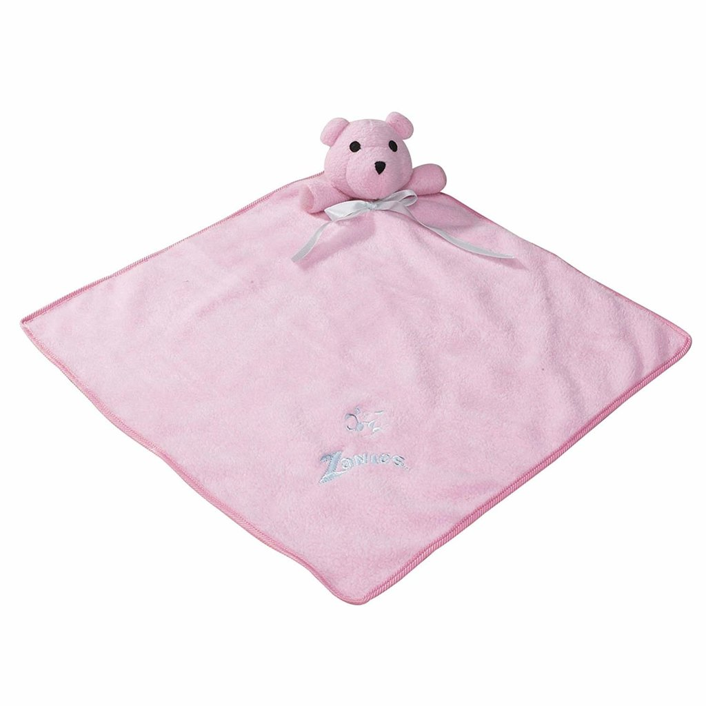 Snuggle bear and blanket - pink