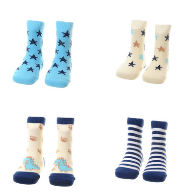Ziggle socks 0-6 months blue