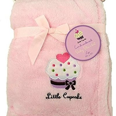 Soft Reversible Embroidered Baby Blanket