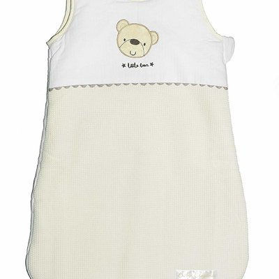 Baby Elegance Snuggle Pouch Star Ted Cream 0-6m
