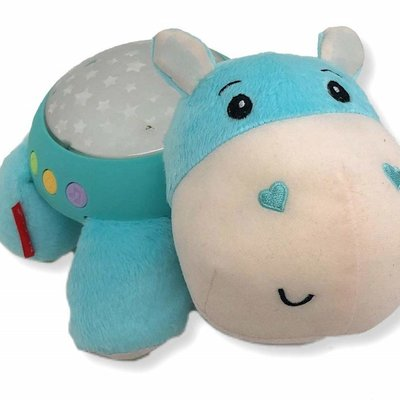Fisher Price Hippo Plush Projection Soot