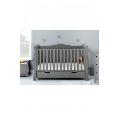 MINI SLEIGH COT BED WARM GREY