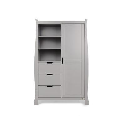 Stamford Double Wardrobe - Warm Grey