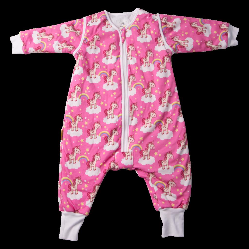 Babyboo SnuggleBoo Sleepsuit Unicorns and Rainbows 1-2 y