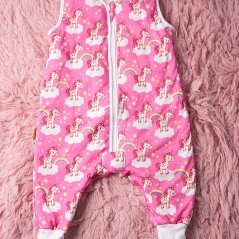 SnuggleBoo Sleepsuit Unicorns And Rainbows 2-4y