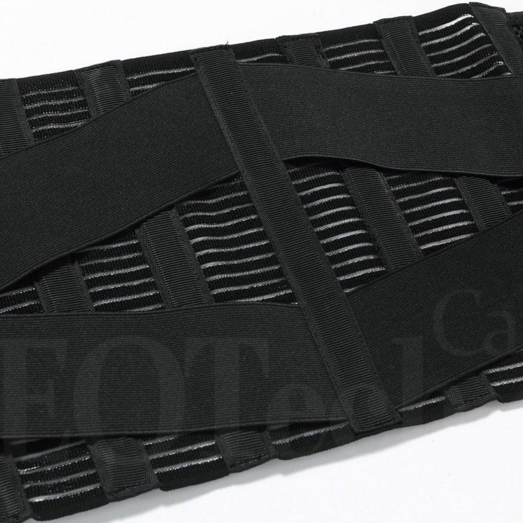 Adj Support Belt Black - Size Large