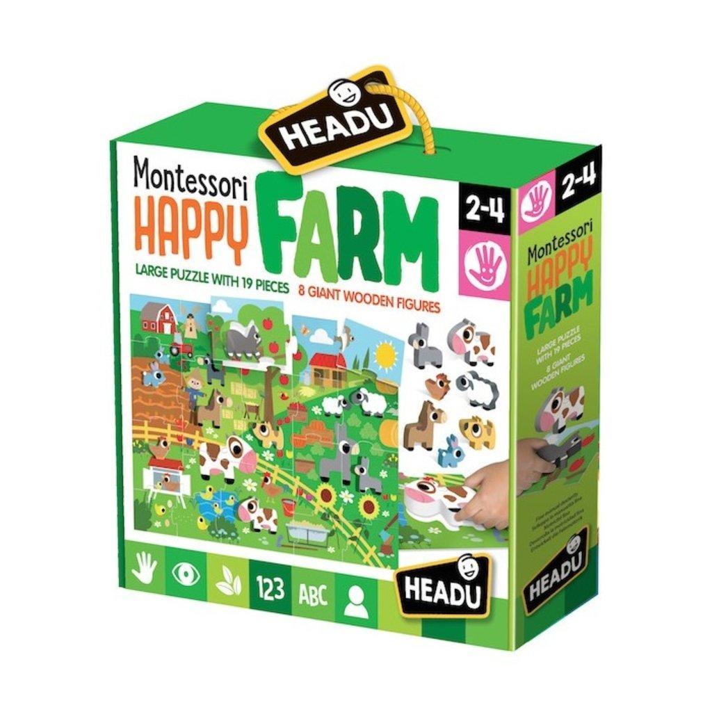 Montessori Happy Farm Puzzle