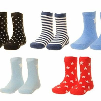 Ziggle socks Boys Grey 12-18 mths