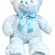 Plush Teddy - Huggable Blue