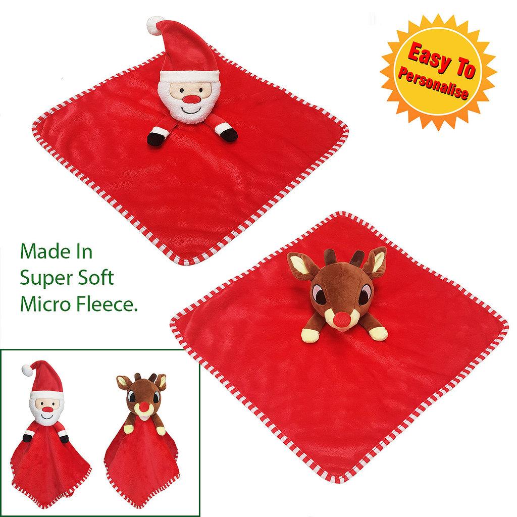 Christmas Comforter Santa/Reindeer