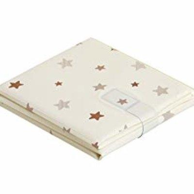Baby Elegence Foldable PVC Changing Mat Cream Star