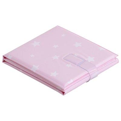 Baby Elegence Foldable PVC Mat Pink Star