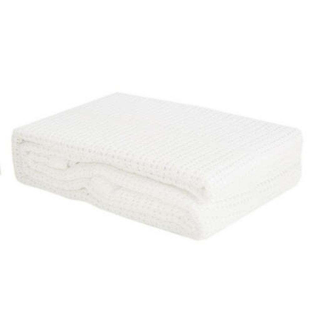 Baby Elegance Cellular Pram Blanket White 75x100