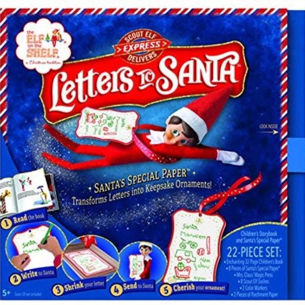 The Elf On The Shelf- Letters to Santa