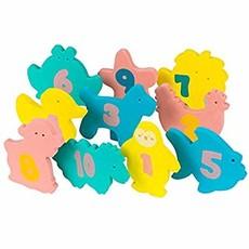 Clevamama Pebble & Friends Bath Toys