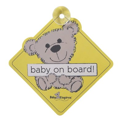 Baby Elegance Baby Elegance Baby on Board Sign