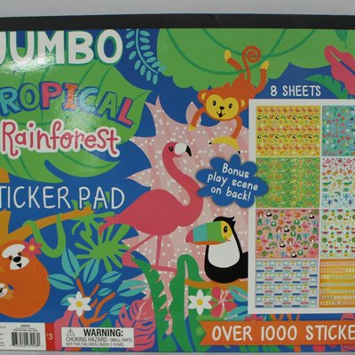 Jumbo Sticker Pad Playground