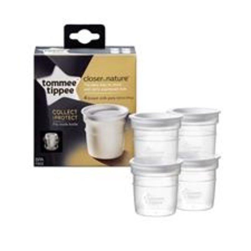 Tommee Tippee Tommee Tippee CTN Breast Milk Storage Pots