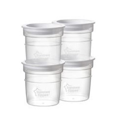 Tommee Tippee Tommee Tippee Closer to Nature Milk Storage Pots