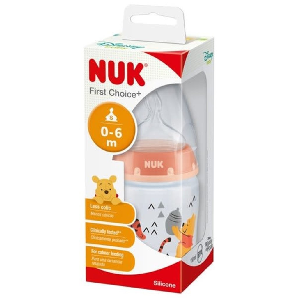 Nuk Nuk Disney First Choice Pooh Bottle 150ml 0-6month