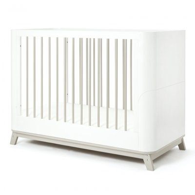 Baby Elegance Baby Elegance The Loop Cot Bed Grey&White