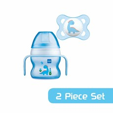 Mam Mam Starter Cup Blue with Soother