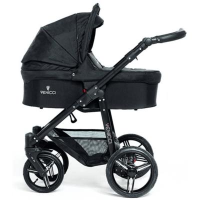 Venicci Venicci Soft Edition  Black w Black Chassis