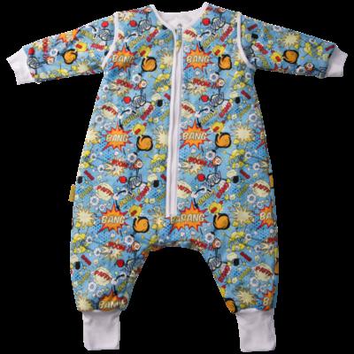 Babyboo SnuggleBoo Sleepsuit Superhero 1-2 y
