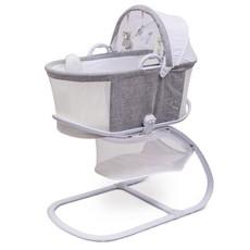 Purflo Purflo Breathable Bassinet Grey/White