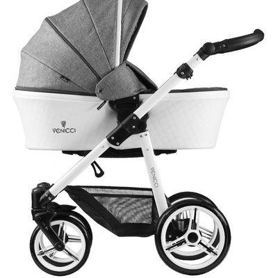 Venicci Venicci Prestige Pure Denim Grey Travel System