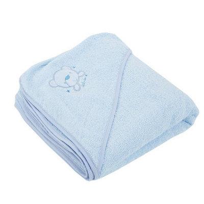 Baby Elegance Hooded Towel – Blue