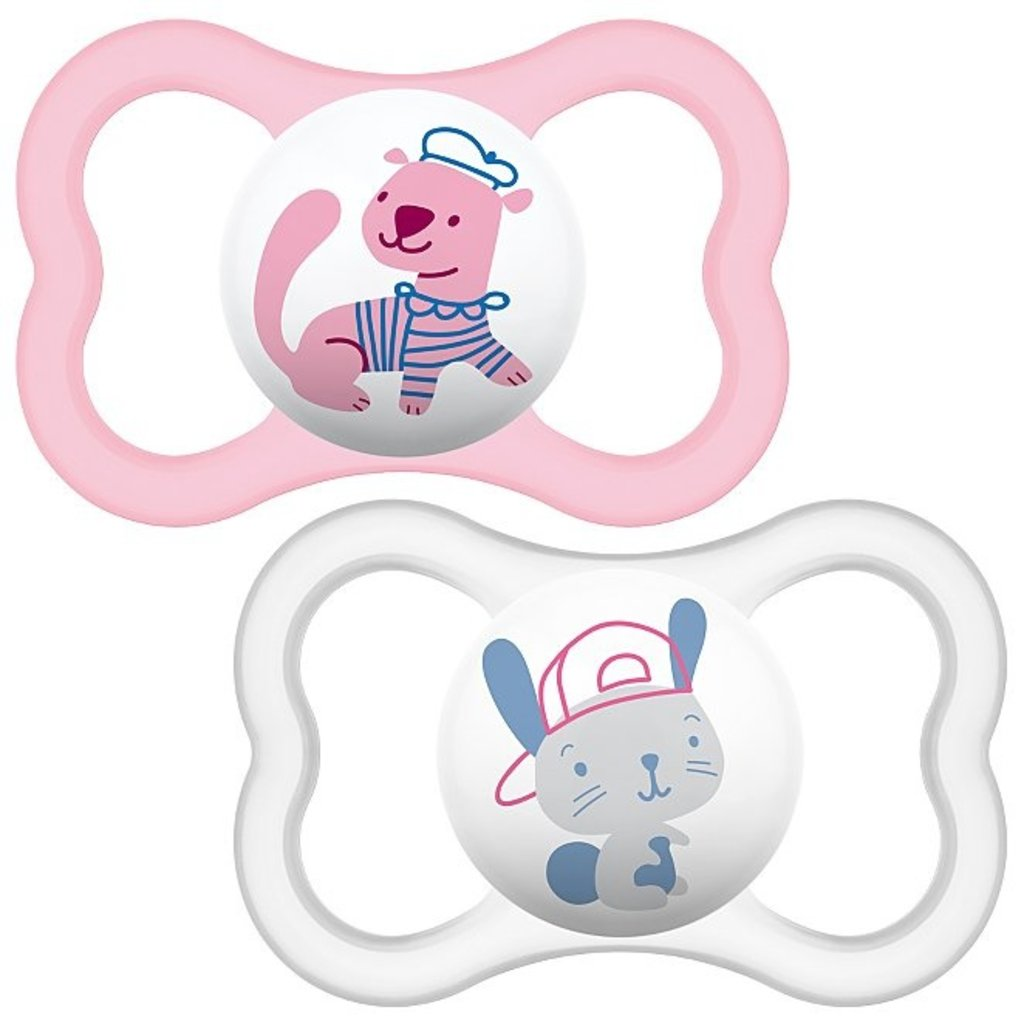 Mam MAM Air Soother Pink 6mth+