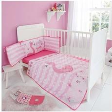 Sheelin 3 piece bumper set pink Flamingo