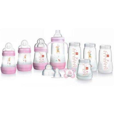Mam Mam Easy Start 11pc Bottle Set Pink
