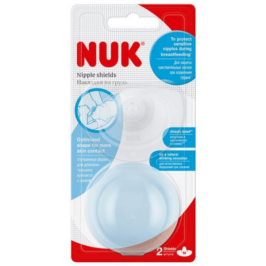 Nuk Nuk Nipple Shields Silicon