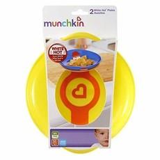 Munchkin Munchkin White Hot Plates Pack of 2