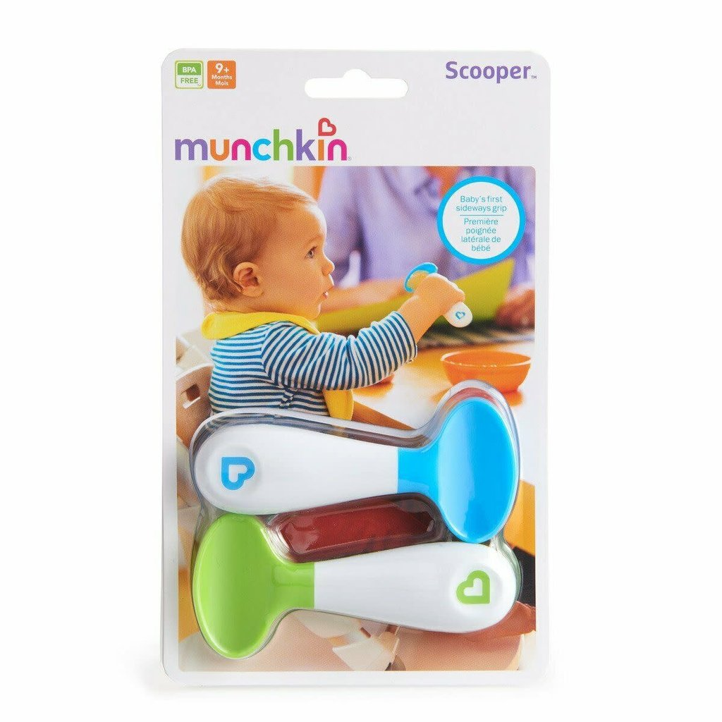 Munchkin Munchkin Scooper Spoon 2PK