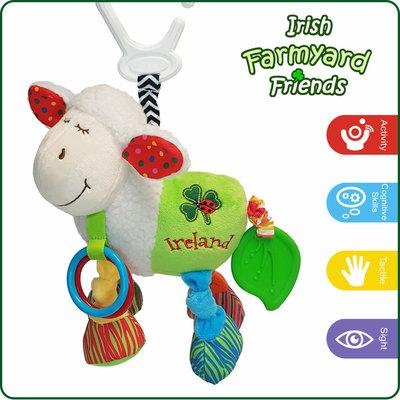 Baby Bow Irish Activity Sheep