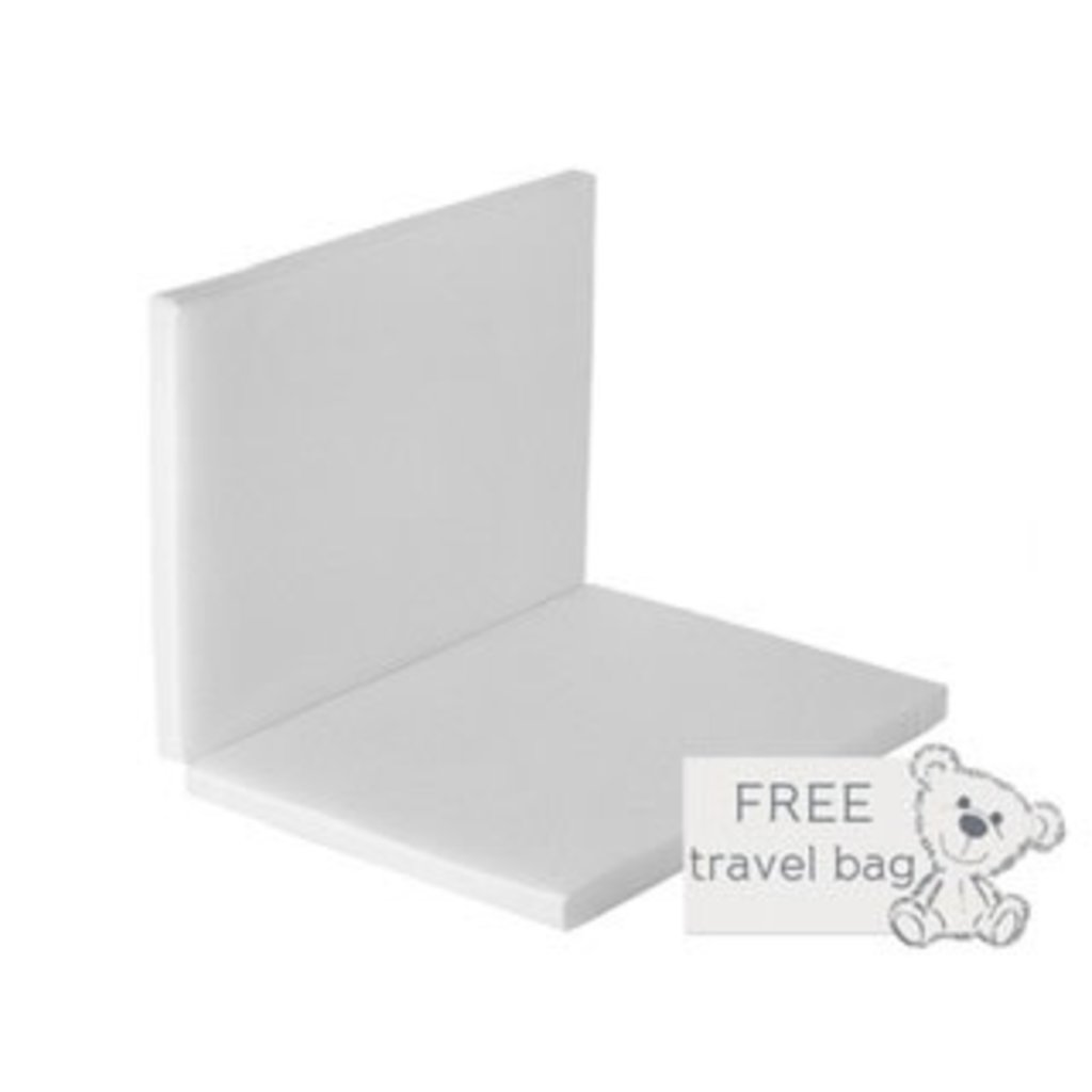 Baby Elegance Baby Elegance Eco Foldable Travel Cot  Mattress 66cm X 94cm