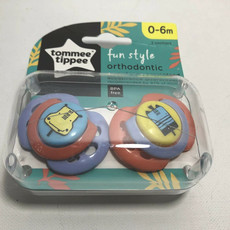Tommee Tippee Tommee Tippee Fun Air Soother 0-6m 2pck