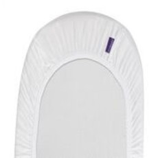 Clevamama Clevamama Fitted Sheets Moses/Pram White