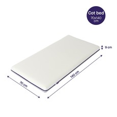 Clevamama Clevafoam Support Mattress 70 x 140 Cotbed