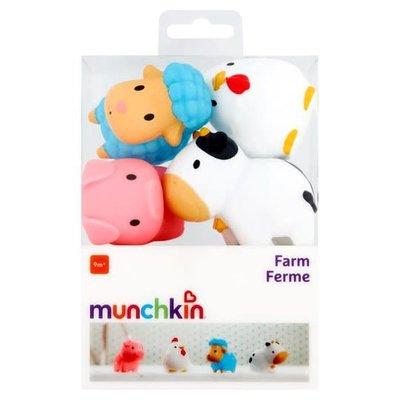 Munchkin Bath Squirters Barnyard Friends