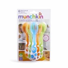 Munchkin Munchkin Multi Forks & spoons 6pk