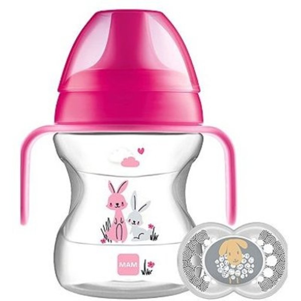 Mam MAM Learn to Drink Pink  190ml