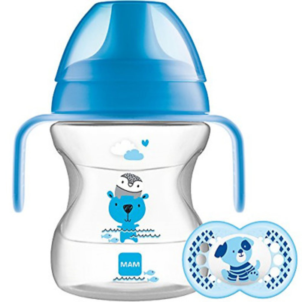 Mam MAM Learn to Drink Cup Blue 190ml