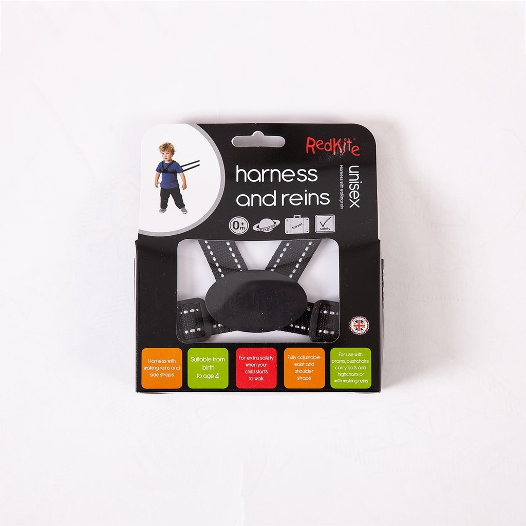 Redkite Redkite Harness & Reins Black