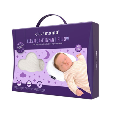 Clevamama Clevamamma- Support Infant Pillow
