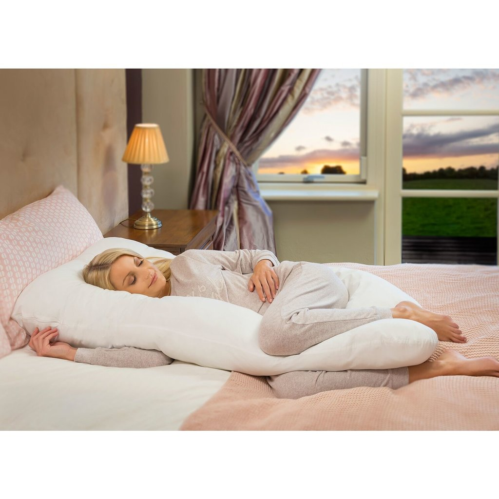 Clevamama Therapeutic Body & Bump Maternity Pillow