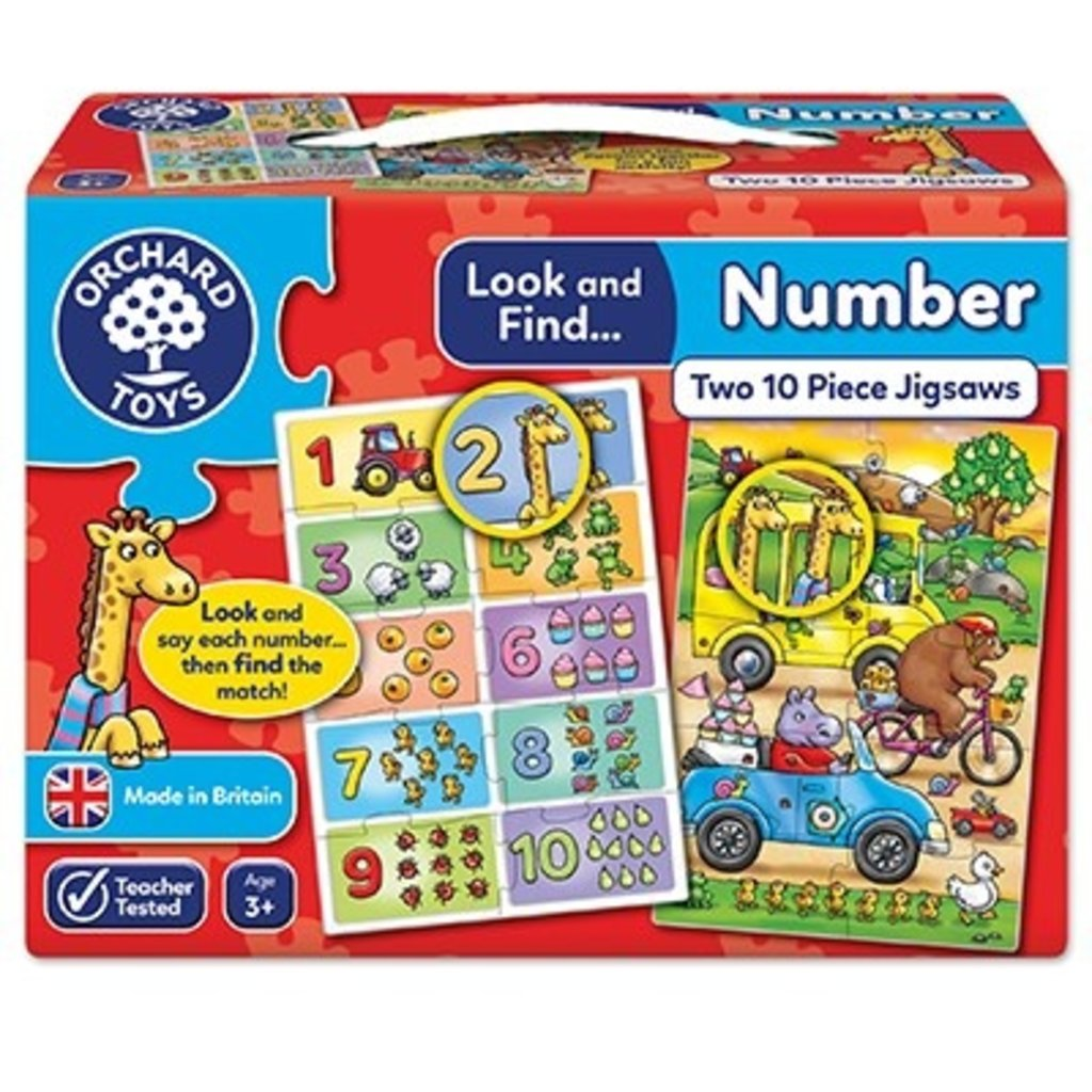 Orchard toys Look and Find Numbers